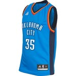 adidas™ Boys' Oklahoma City Thunder Kevin Durant #35 Revolution 30 Replica Road Jersey