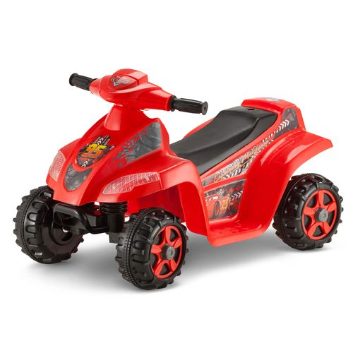 KidTrax Boys' Disney Cars 6V Quad Ride-On