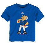 Majestic Toddlers' Texas Rangers Home Run Mascot T-shirt