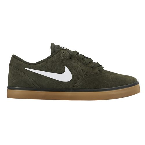 Nike Mens SB Check Shoes in Dark Green