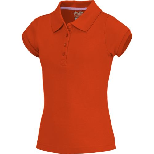 Display product reviews for Austin Trading Co. Girls' Uniform Short Sleeve Interlock Polo Shirt