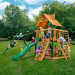 Gorilla Playsets™ Navigator Swing Set with Timber Shield™ - view number 2