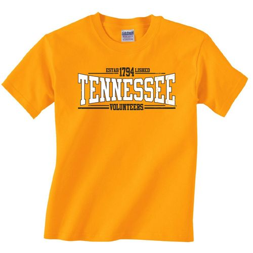 Viatran Kids' University of Tennessee College 8 T-shirt