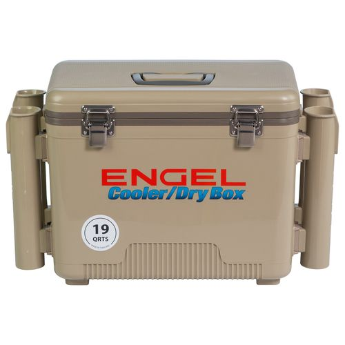 Display product reviews for Engel 19 qt. Cooler/Dry Box with Rod Holders