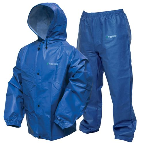 Display product reviews for frogg toggs Men's Pro Lite Rain Suit