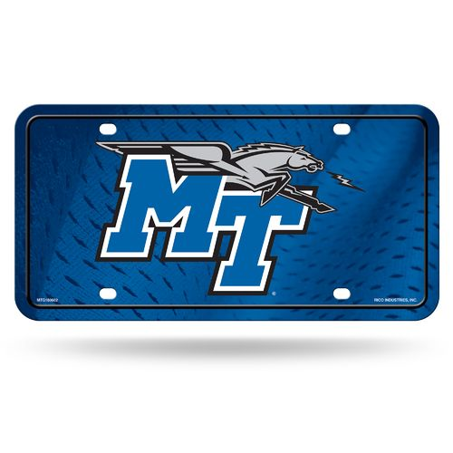 Rico Middle Tennessee State University Metal Tag