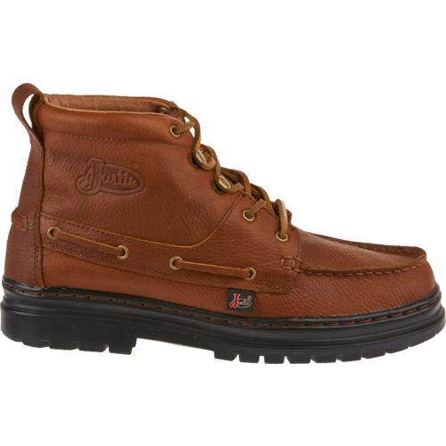 Display product reviews for Justin Men's Casual Chukka Boots