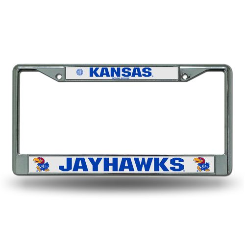 Rico University of Kansas Chrome License Plate Frame