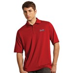Antigua Men's Atlanta Braves Exceed Polo Shirt