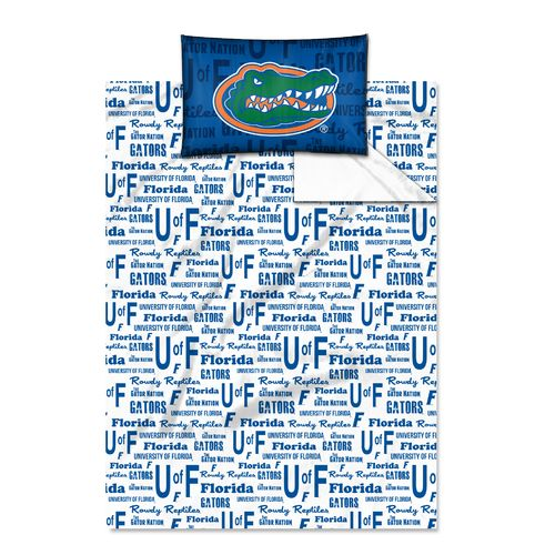 The Northwest Company University of Florida Anthem Twin Sheet Set