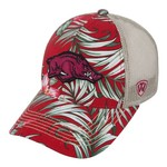 Top of the World Adults' University of Arkansas Shore Cap