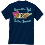 New World Graphics Women's East Tennessee State University Bright Bow T-shirt - view number 1