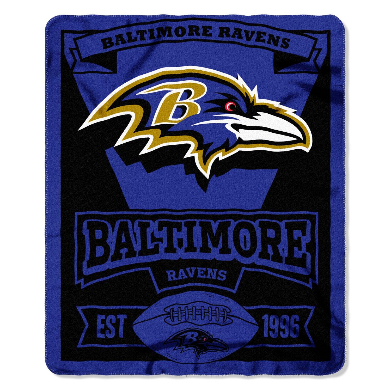 The Northwest Company Baltimore Ravens Marquee Fleece Throw