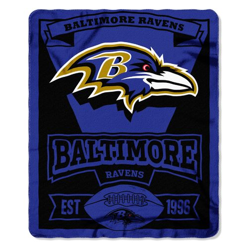 The Northwest Company Baltimore Ravens Marquee Fleece Throw