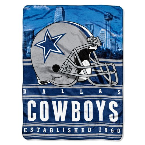 The Northwest Company Dallas Cowboys Stacked Silk Touch Throw