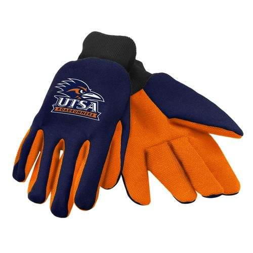 Team Beans Adults' University of Texas at San Antonio 2-Color Utility Gloves