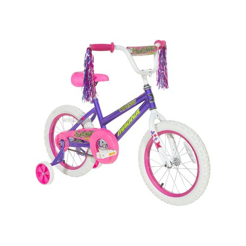 "Display product reviews for Magna Girls' 16"" Cheerleader Bicycle"