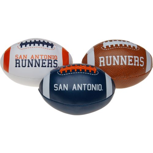 Rawlings Boys' University of Texas at San Antonio 3rd Down Softee 3-Ball Football Set