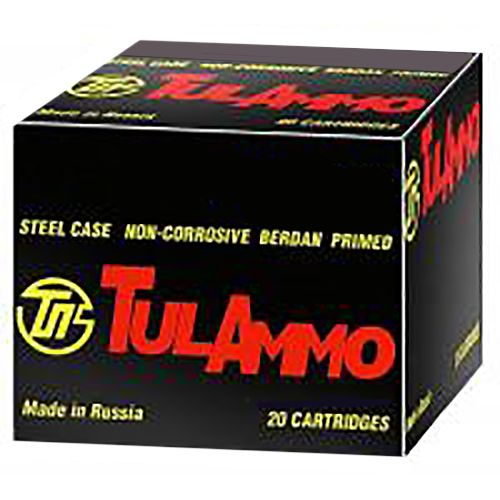 TulAmmo .308 Win./7.62 NATO 150-Grain Full Metal Jacket Centerfire Rifle Ammunition