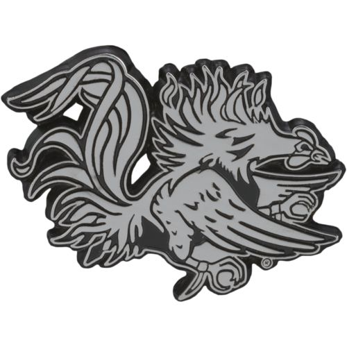 Stockdale University of South Carolina Chrome Freeform Auto Emblem