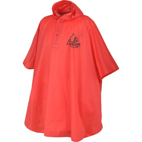 Storm Duds Men's University of Louisville Heavy-Duty Rain Poncho