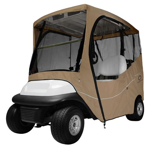 Classic Accessories Short Roof Travel Golf Cart Enclosure