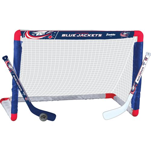 Franklin Columbus Blue Jackets Mini Hockey Goal Set