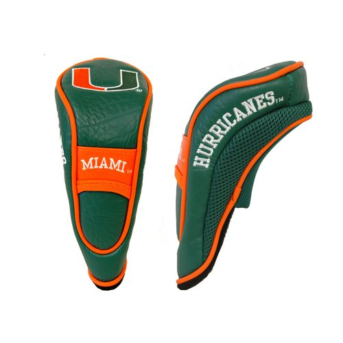Team Golf University of Miami Hybrid Head Cover