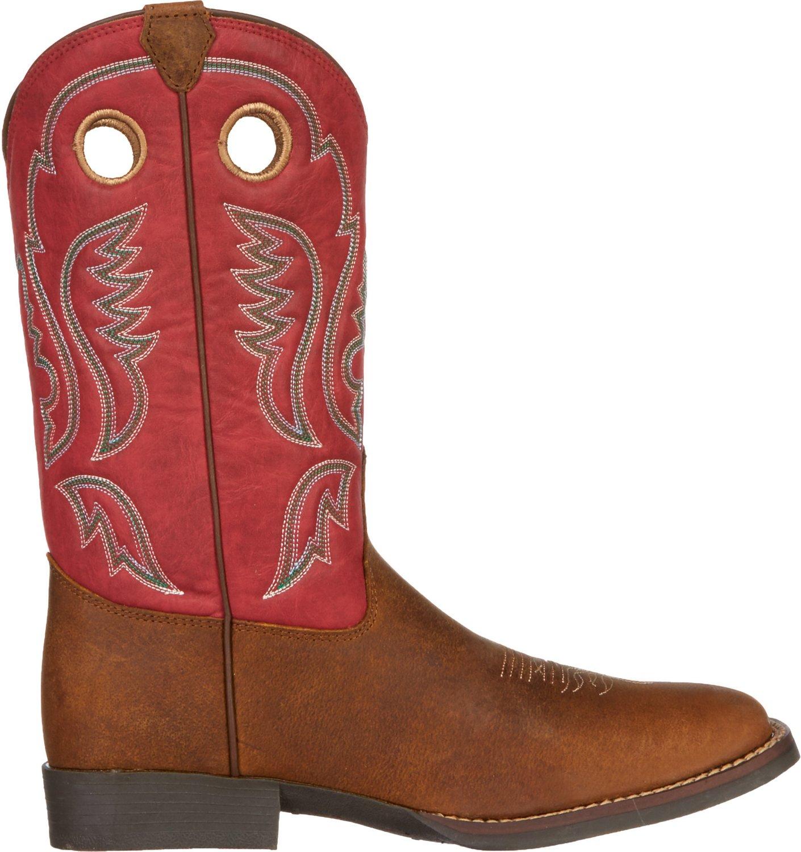 Justin Kids' Buffalo Bent Rail® Western Boots