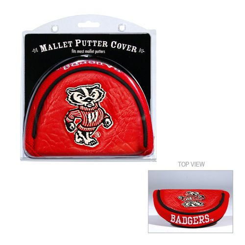 Team Golf University of Wisconsin Mallet Putter Cover