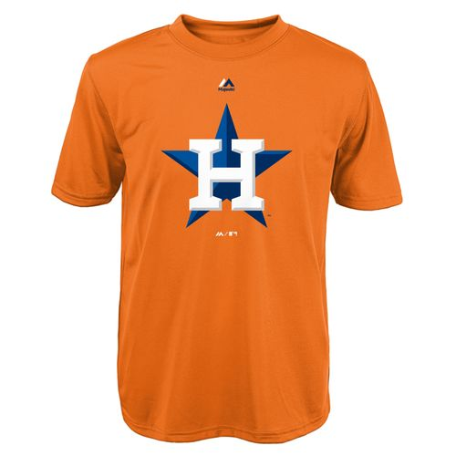 Majestic Boys' Houston Astros Primary Logo T-shirt