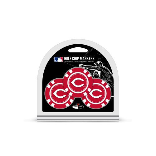 Team Golf Cincinnati Reds Poker Chip and Golf Ball Marker Set - view number 1