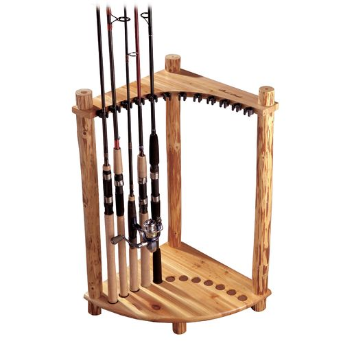 Triumph Sports USA Rush Creek 12-Rod Corner Rack