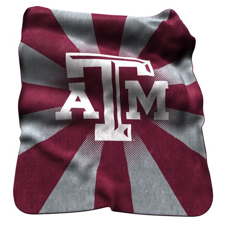 Logo™ Texas A&M University Raschel Throw
