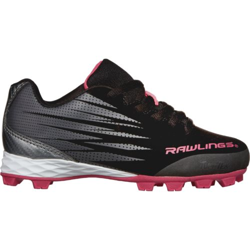 Rawlings Girls' Gamer Low Baseball Shoes