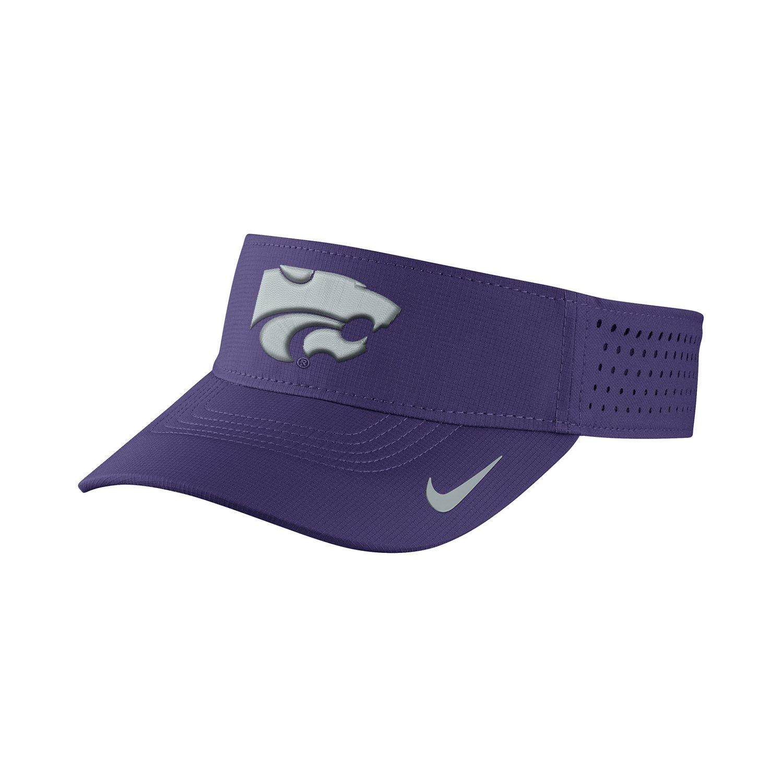 Nike™ Men's Kansas State University Vapor Adjustable Visor