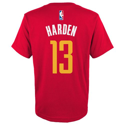 adidas™ Boys' Houston Rockets James Harden #13 T-shirt
