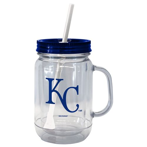 Boelter Brands Kansas City Royals 20 oz. Handled Straw Tumblers 2-Pack