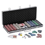 Fat Cat Bling Poker Set