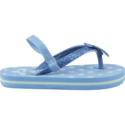 O'Rageous® Toddler Girls' Heart Sandals