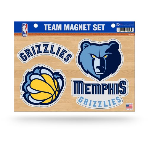 Rico Memphis Grizzlies Team Magnet Set