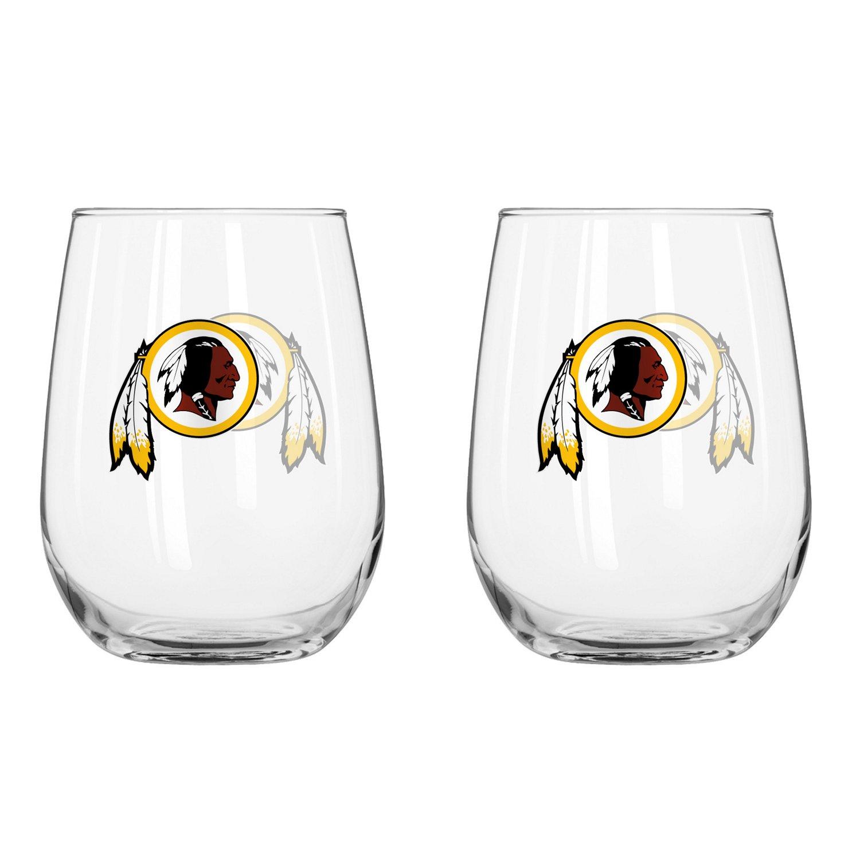 Boelter Brands Washington Redskins 16 oz. Curved Beverage