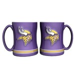Boelter Brands Minnesota Vikings 14 oz. Relief Mugs 2-Pack