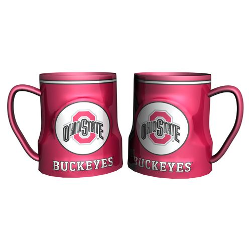 Boelter Brands Ohio State University Gametime 18 oz. Mugs 2-Pack