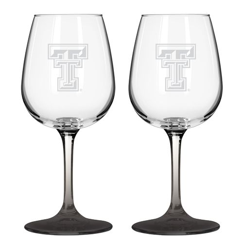 Boelter Brands Texas Tech University 12 oz. Wine Glasses 2-Pack - view number 1
