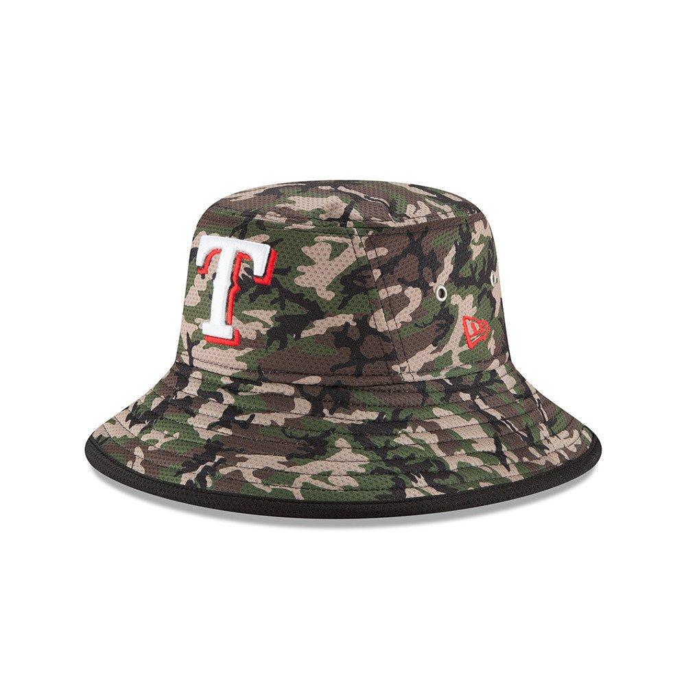 New Era Men's Texas Rangers Redux Bucket Hat