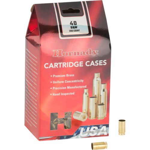 Hornady .40 S&W Unprimed Cases