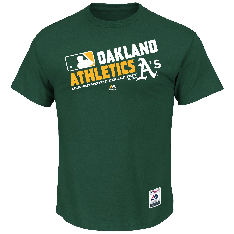Majestic Men's Oakland Athletics On Field Team Choice