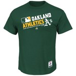 Majestic Men's Oakland Athletics On Field Team Choice T-shirt