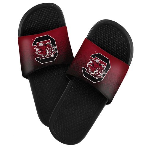 Forever Collectibles™ Men's University of South Carolina Textured Sport Slides